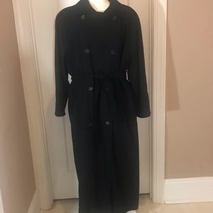 London Fog Double Breasted Trench Coat women's